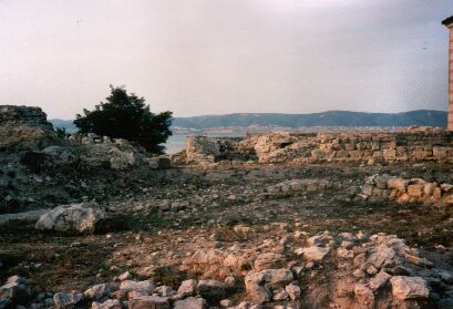 Greek ruins in Old-Nesebar