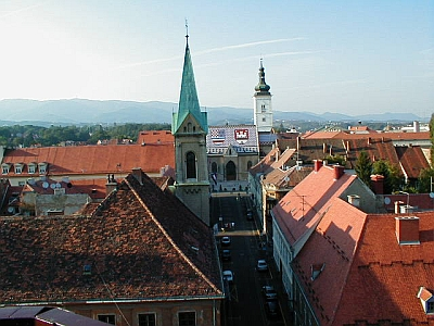 Zagreb: St Mark's church with its characteristic roof