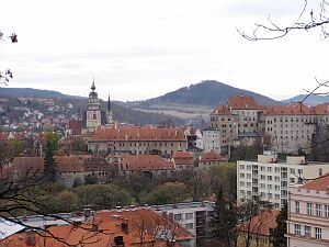 Old city of Cesky Krumlov