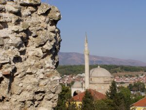 Belong to the Macedonian townscape: Mosques