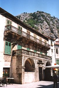 Kotor: One of many palaces