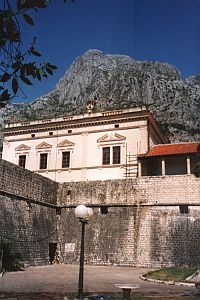 Kotor: The walls of the old town