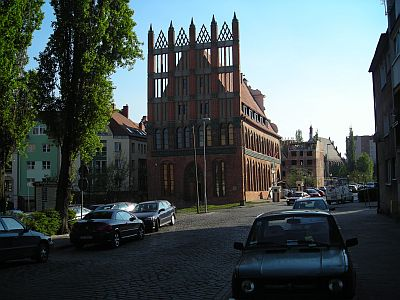 Szczecin: The old, somewhat warped Old Town Hall