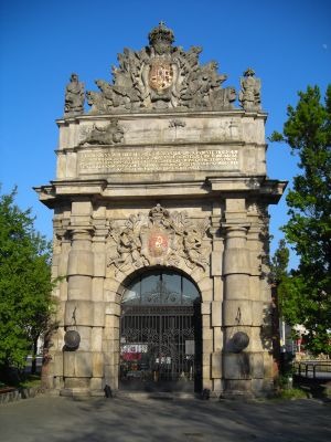 The Berlin Gate (today known as Port Gate)