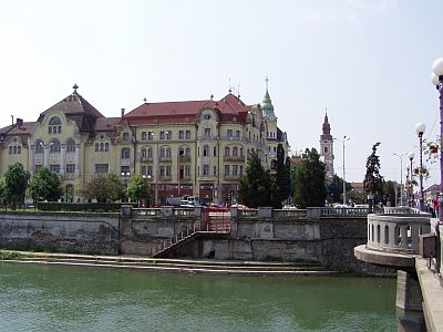 Oradea: A view over the river
