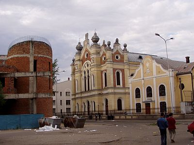 The old Synagogue of Satu Mare