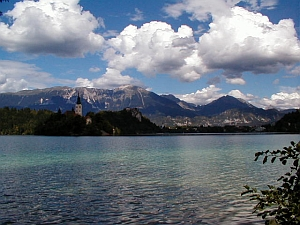 Slovenia: Julian Alps near Bled