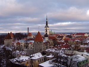 The marvellous skyline of Tallinn