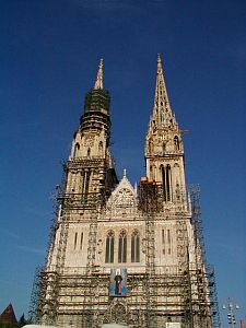St. Stephen's Cathedral in Zagreb