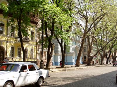 The small but beautiful old town of Odessa